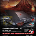 Notebook ROG G751