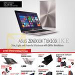 Notebook Zenbook UX303, New Launches ROG G751, Transformer Book T100, X550JK, Zenfone