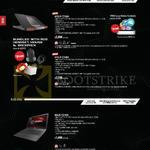 Notebooks Gaming ROG G751JY-T7128H, G751JT-T7049H, G56JK-CN143H