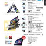 Notebooks TX201LA-CQ012H, CQ013H, TP300LD-DW081H, TP500LN-DN118H, DN119H, T100TA-DK025H