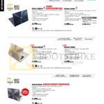 Notebooks Zenbook UX301LA-DE022H, UX302LG-C4002H, C4006H, UX303LN-DQ238H, UX303LA-R5065H, UX32LN-R4016H