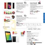 Smartphones ZenFone 5 Dual Sim, 5 LTE, 6 Dual SIM, Nexus 7