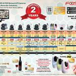 ACTi Foscam Stand Alone Network IP POE WiFi Camera FI8909W, FI8918W, FI8910W, FI9821W, FI9831W, FI 9826W, FosBaby, FI9851P, FI8904W, FI8906W
