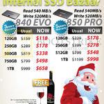 Internal SSD Samsung 840 EVO, 120GB, 250GB, 500GB, 750GB, 1TB PRO, 128GB, 256GB, 512GB