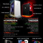 Aftershock Desktop PCs Hypergate, Termor