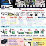Avision MiWand 2, ScanQ, Pro, TP-Link Wireless PCI Express Adapter, Plustek OpticFilm 8200i Film Scanner, Kanvus Artist, Life