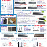 TP-Link Networking Gigabit Switches, Routers, Power Over Ethernet PoE Switches, PowerLine Adapters USB,