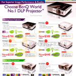 BenQ Projectors Meeting Room, Home Video, MW665, MW526, MX525, MS524, W1080STPlus, W1070 Plus