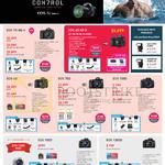 Digital Cameras DSLR EOS 7D MK II, EOS 6D, EOS 70D, EOS 700D, EOS 100D, EOS 1200D