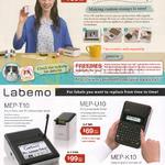 Casio Stamp Maker, Labellers, STC-U10, Labemo MEP-T10, MEP-U10. MEP-K10