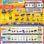 Jackpot Prizes, Voucher Offers, Headphones, Speakers, Earphones, Sound Blaster Roar