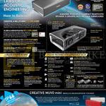 Sound Blaster Roar Bluetooth Speaker Features, Muvo Mini Wireless Weatherproof Speaker