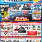 Sound Blaster Roar Killer Deals, Party Pack Deal, Roar Bluetooth Speaker, Sound Blaster X7