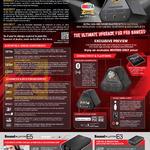 Sound Blaster X7 Bluetooth N Audio Amplifier, E5 Headphone, E3 Headphone Amplifier