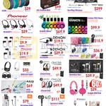 Audio Speakers Logitech X100, JBL OnBeat Mini, Go Play, Pioneer, Denon, Razer Kraken Neon, Sony, Gavio, AKG, JBL
