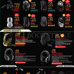Cooler Master Mouses, Headsets, Earphones, Skorpion, Xornet, Alcor, Inferno, Recon, Mizar, Havoc, Reaper, CM Storm Pulse-R, Sirus S5.1, Ceres-300, Ceres-500, Pitch, Resonar