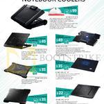 Cooler Master Notebook Coolers SF-17 WUSB2.0HUB, R9-NBC-SF7K-GP, Notepal X3 W20CM Fan, Ergostand Lite W2 USB Hub, X-Slim II, I300 16CM LED