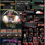 Keyboards Mouse, Razer, Logitech, Blackwidow, Steelseries Ceres, Sirus, Tesoro, Tizona, QuickFire XT