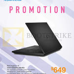 Newstead Notebook Inspiron 14 3442-40025SG-W8-Blk