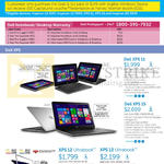 Notebooks XPS 11, XPS 15, XPS 12
