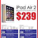 Apple IPad Air 2, IPad Air, Wi-Fi, Wi-Fi Plus Cellular, Free Gifts, 16GB, 32GB, 64GB, 128GB