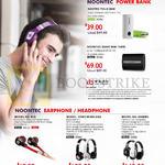 Noontec Power Banks, Earphone, Headphone, Nootec Polo 5600, Noontec Giant Mini 10000, Rio, Zoro Wireless, Hammo