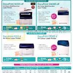 Zerox Printers DocuPrint M355df, CM305df, P355d, CP305d, Toners