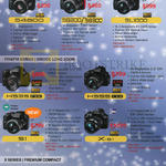 Digital Cameras (No Prices) S4800, S8200, S8300, SL1000, HS35, HS55, S1, X-51, XF1