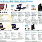 AIO Desktop PCs, Monitors, Envy, Pavilion, Envy Recline, 23-n101d, K310d, K311d, K305d, 700-392d, 810-293d, P021d, P022d, 20-2110d, 20-2205d, X2401, W2371d