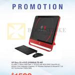 Newstead AIO Desktop PC Envy 23-n101D J1G80AA