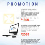 Newstead AIO Desktop PCs Envy 23-K310D J1F69AA, 23-K311D J1F70AA, 27-K305D J1F71AA