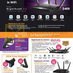 Netgear Nighthawk X4 R7500, X6 R8000 AC3200 WiFi Router, R7000, PR2000, A6210