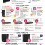 Netgear Wireless Router, Range Extenders, Switches, 3G USB Modem, Player, R6300 V2, WNR2200, RN10400, AC329U, PTV3000