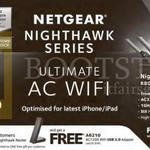 Netgear Wireless Routers Nighthawk X3, Nighthawk X6