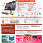 Lenovo AIO Desktop PCs A540 Touch, A740 Touch