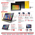 Tablets Spark 8, Miix 2 11, Miix 2 10, Miix 2 8