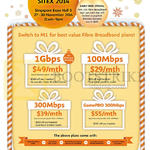Fibre Broadband, Early Bird Specials, 1Gbps, 100Mbps, 300Mbps, GamePRO 300Mbps