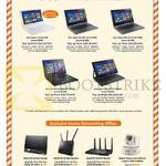 Fibre Notebooks, Routers, Home Surveillance, Acer Aspire V3-171, R3-471TG-589K, R3-471TG-77RD, TravelMate TMP645-M, Asus RT-AC56S AC68U AC87U, Aztech HWIPC408HD