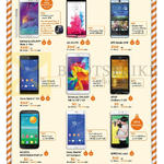 Mobile Samsung Galaxy Note 4, Tab 4 7.0, LG G3, HTC Desire Eye, Sony Xperia Z3, Xperia Z3 Compact, Asus Zenfone 5, Alcatel Onetouch Pop S7, Oppo N1 Mini
