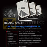 Mini Desktop PC Wind Box DC111