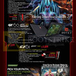 Notebook GP60 2PE Leopard Pro, GE60 2PL Apache, GX612PF