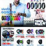 GPS Fitness Bands, Sports Watches, Vivosmart, Vivofit, Forerunner 620, 220, 15, 920XT, Approach S6, S4, Fenix 2