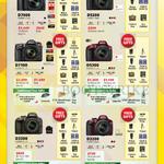 DSLR Digital Cameras D7000, D5200, D7100, D5300, D3300, D3200