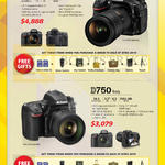 DSLR Digital Cameras D810, D750