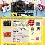 Digital Cameras 1 AW1, 1 J4