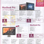 Apple MacBook Pro Notebook, IMac AIO Desktop PC, MacBook Pro With Retina Display