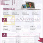 Macbook Air Notebook 128GB, 256GB
