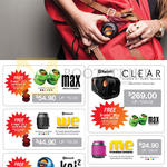 X-Mini Max Capsule Speakers, We, Kai 2, Clear, Me Thumbsize, Uno