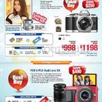 Digital Cameras OM-D E-M10, PEN E-PL6 Dual Lens Kit