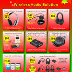 Wireless Audio Headsets, Vibration Speakers, Audio Converters, Audio Transceiver, Mini Speakers